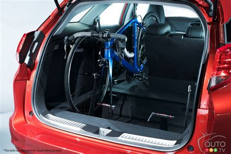 Honda Civic Tourer Interior by Honda Civic Tourer Available With In Car Bicycle Rack