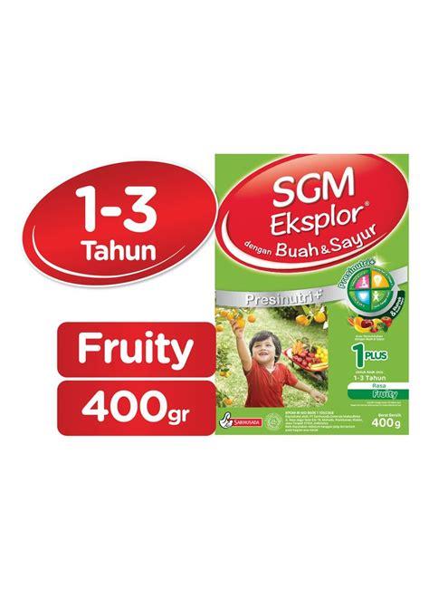 sgm eksplor 1 pertumbuhan presinutri buah sayur