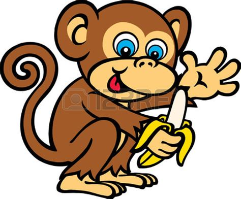 clipart monkeys monkey banana clipart