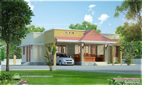 small kerala style beautiful house rendering home kerala