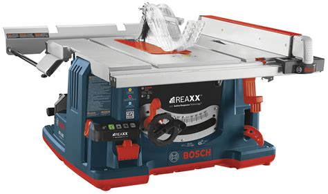 bosch bench saw bosch introduces saw with flesh sensor technology