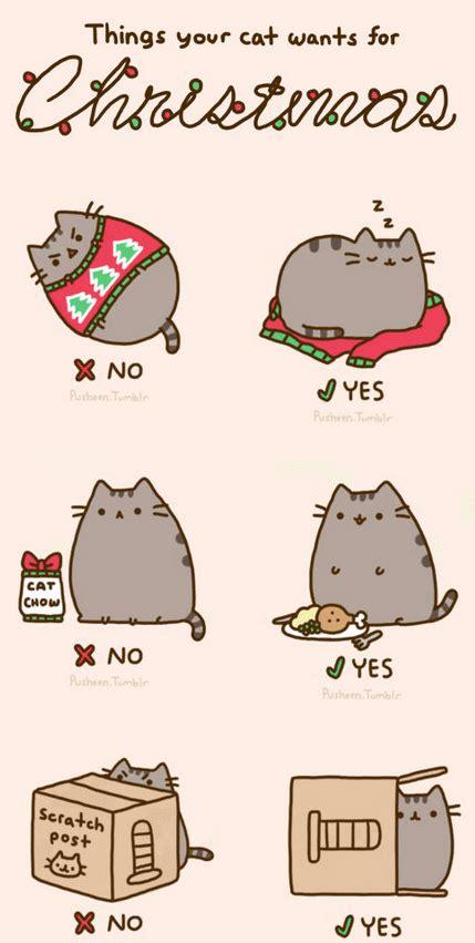pusheen cat christmas to do list how to catch santa pusheen christmas santa claus