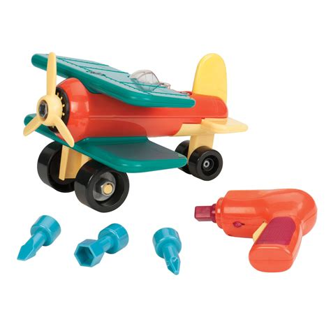 To Take Apart Toys For 2 Year Old Boys | amazon com battat take a part airplane toys games