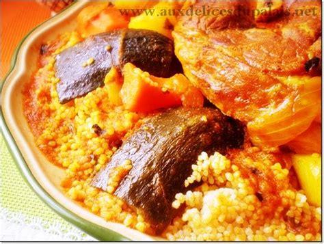 recette cuisine couscous tunisien recette du couscous tunisien 183 aux delices du palais