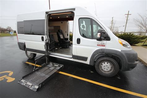 Wheelchair Accessible Dodge Promaster   Autos Post