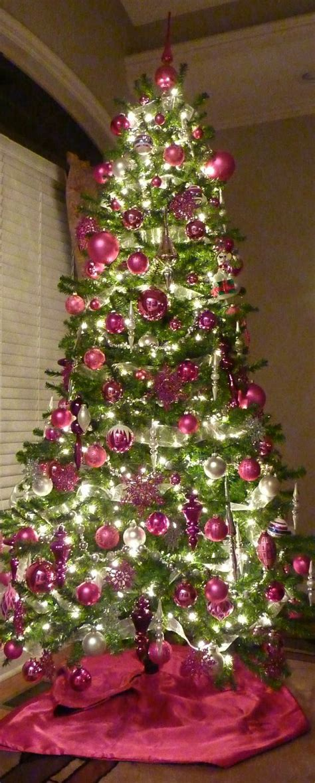 christmas trees trees and pink christmas tree on pinterest