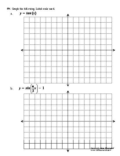 printable trigonometric graphs worksheets trig graphs worksheet opossumsoft worksheets