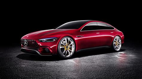 Wallpaper Mercedes Amg Gt Concept Cars 2017 4k