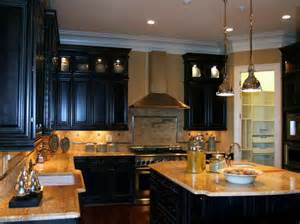 Kitchen Cabinet And Countertop Ideas Kitchen The Right Ideas For The Dark Painted Kitchen