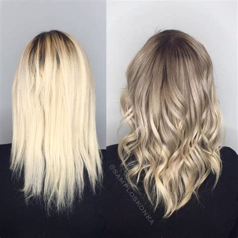 reverse ombre at home for processed blonde hair 25 best ideas about reverse balayage on pinterest