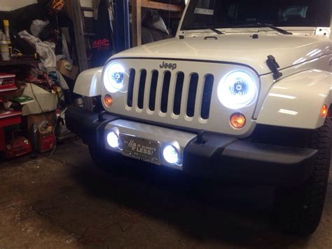 led headlights jeep wrangler jeep wrangler led headlights images