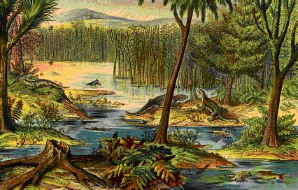 era paleozoica periodo devonico carbonifero en el foro mundo prehistorico 2011 12 22 13