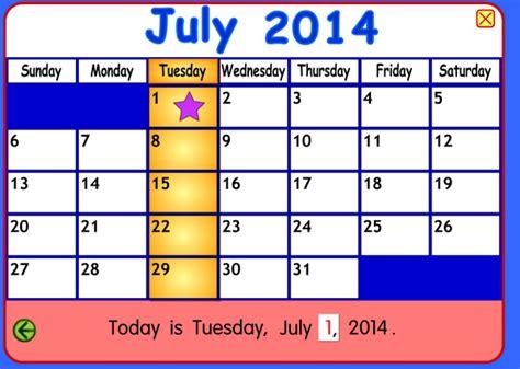 starfall make a calendar starfall education on quot happy july 1 happy