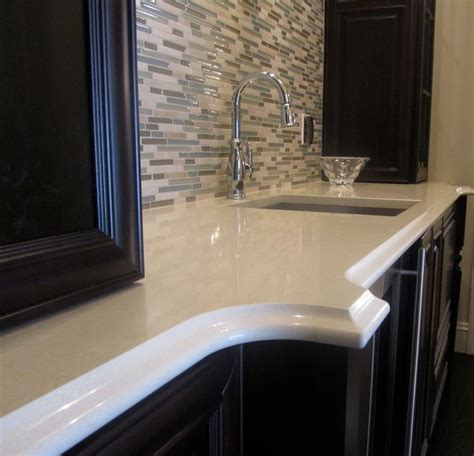 Engineered Quartz Countertop by Granite And Engineered Quartz Countertops Traditional