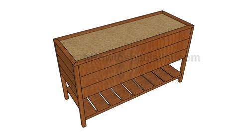 How To Build A Raised Planter Box by How To Build A Planter Box Howtospecialist How To