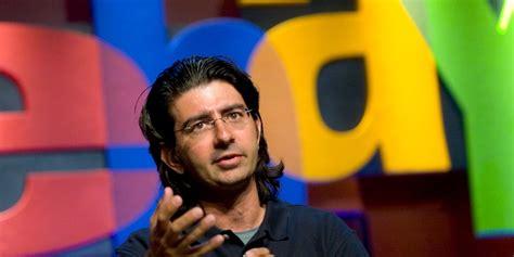 ebay founder how does pierre omidyar ebay founder distribute