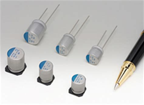 conductive polymer aluminum electrolytic capacitors nichicon corporation technical library technologies contributing to energy reduction and
