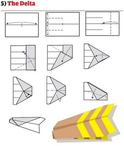 How To Make A Normal Paper Airplane - how to make different types of paper airplanes trusper