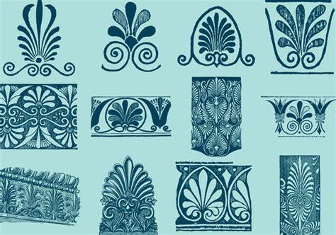 greek motifs greek decorative motifs free vector download 380283 cannypic