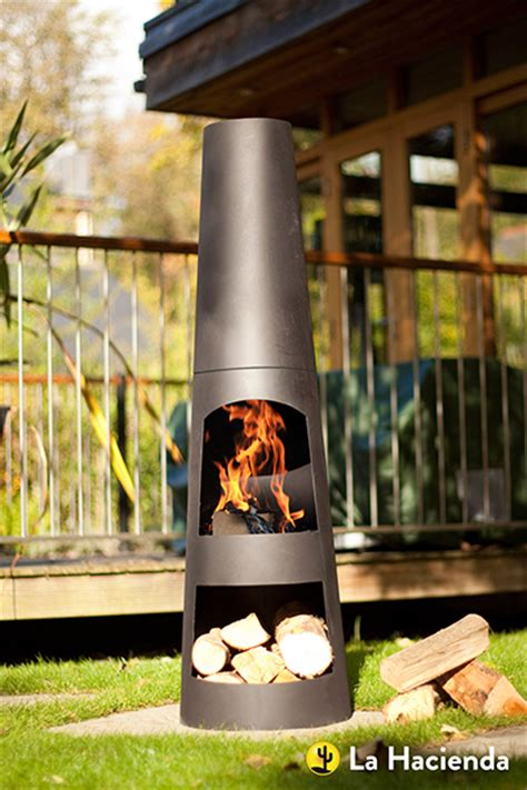 Designer Chiminea Buy Contemporary Steel Chiminea Circo Delivery By