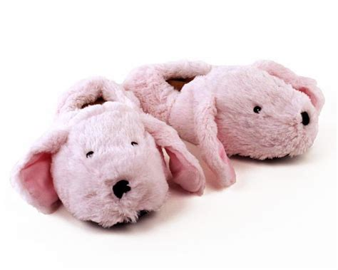 mens pink bunny slippers cozy pink bunny slippers microwaveable slippers