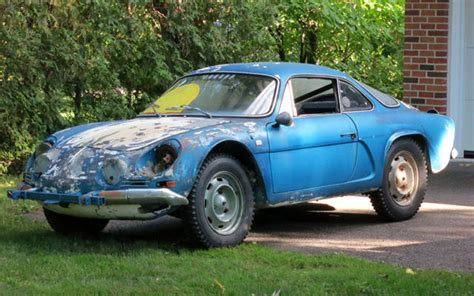 alpine a110 for sale rally ice race history 1970 alpine a110
