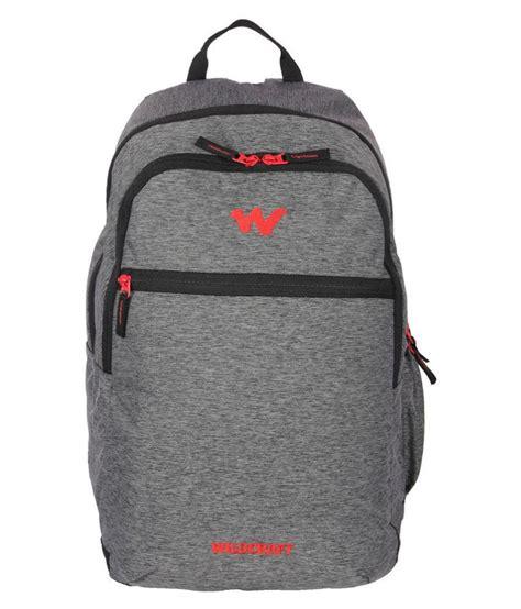 Visval Zoom Backpack Grey Original wildcraft grey backpack buy wildcraft grey backpack at low price snapdeal
