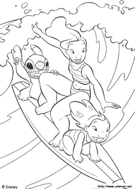 lilo and stitch sparky coloring pages dibujos para colorear de lilo y stitch