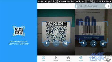 cara membuat aplikasi barcode scanner android cara mudah scan barcode dan kode qr di hp android