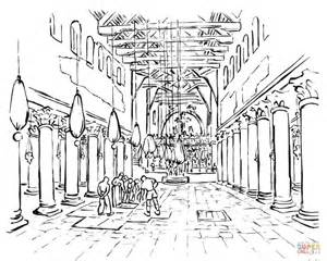 hagia sophia coloring page coloring pages