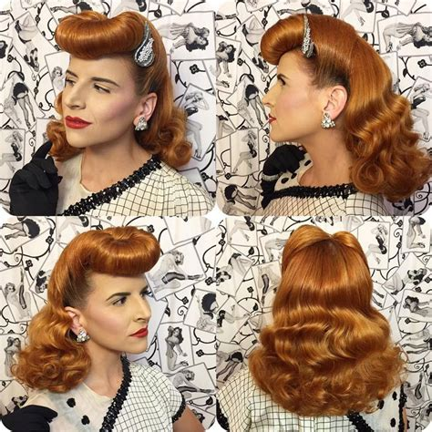 hairstyles vintage 7014 best images about rockabilly hairstyles on pinterest