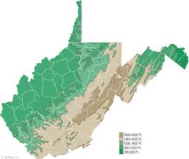 west maps map of west virginia