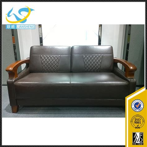 couches for heavy people luxury leather sofa wood settee living room furniture