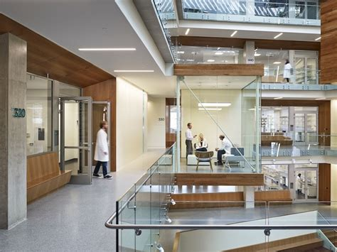 tisch institute ms check out perkins will s ultra transparent research center