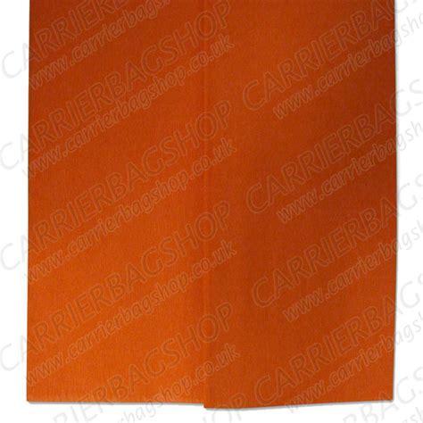 Crepe Paper Folds - orange crepe paper folds from carrier bag shop supplier