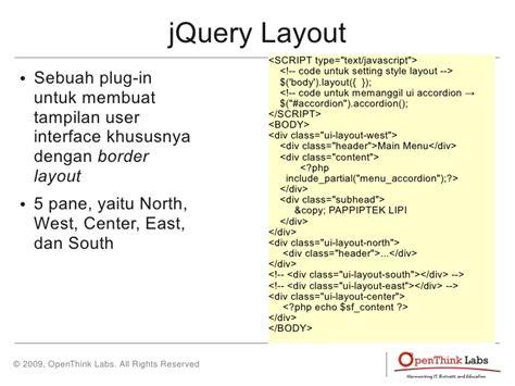 jquery ui layout hide center visualisasi online untuk data indikator iptek
