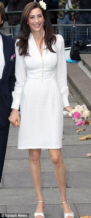 Nancy Shevell wedding dress by Stella McCartney was