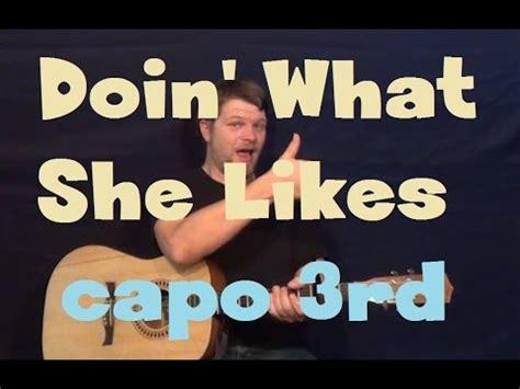 shelton doin what she likes official doin what she likes shelton easy strum guitar