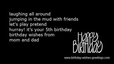 5th Birthday Quotes 5th Birthday Wishes Boys And Girls 5 Year Old Bday Greetings