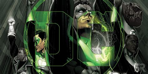 Green Lantern Logo Flip geoff johns
