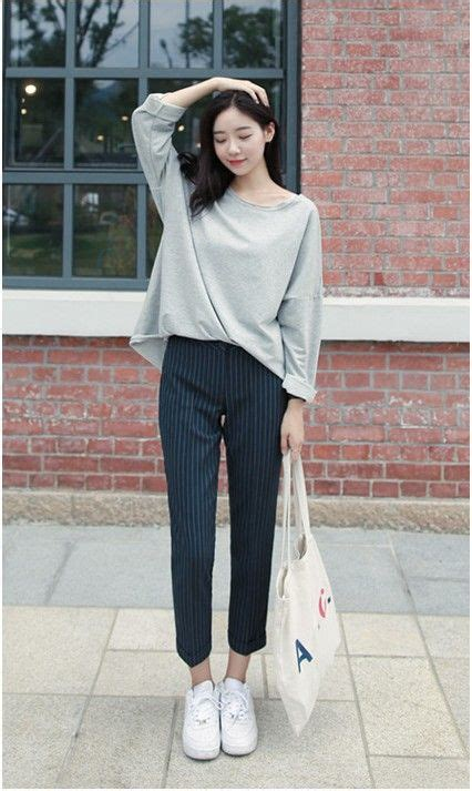 style ala korea 10 gaya fashion casual ala korea ini bikin penilanmu