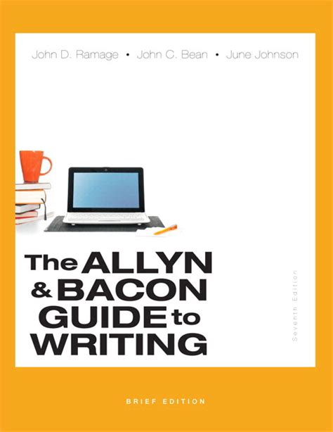 a user s guide to copyright seventh edition a user s guide to series books ramage bean johnson the allyn bacon guide to writing