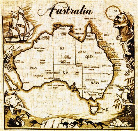 pattern uk slang australia map made from australian slang words in vector