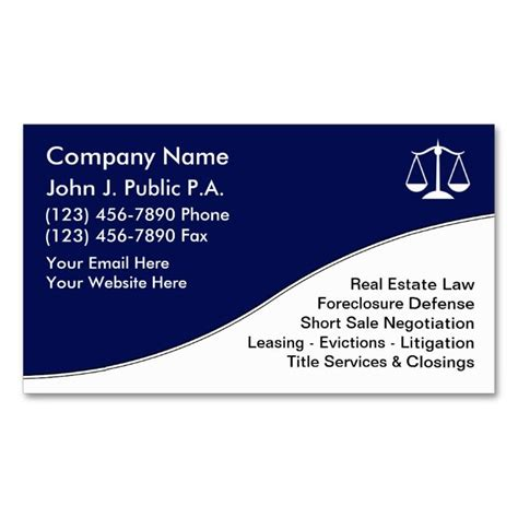 attorney business cards templates 2215 best images about attorney lawyer business cards on