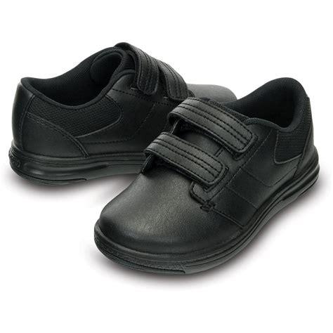 Comfortable Shoes For School crocs shoe ps black comfortable leather school