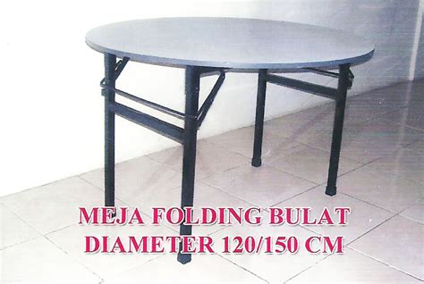 Meja Lipat Bulat compass furniture and interior design restaurant meja