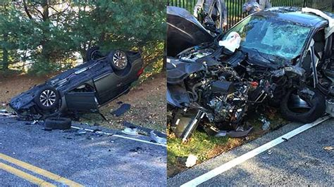 3 vehicles crash in glen mills delaware county 6abc com
