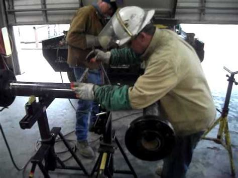 """WELDING PIPE FITTING """"SHOP""""  undisclosed location.   YouTube"""