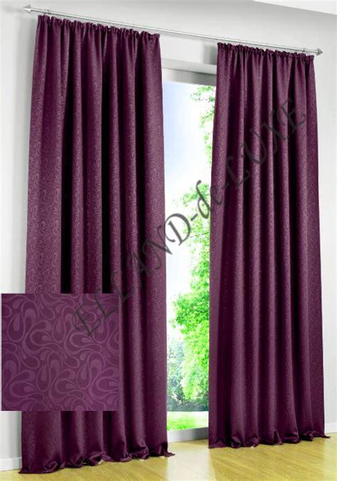 vorhang verdunkelung 1 st gardine 270 x 145 violett store verdunkelung vorhang