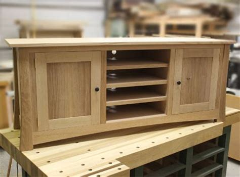build   flat screen tv stand woodworking